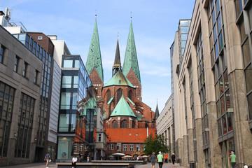 Saint-Marien-Kirche, Schrangen, Lübeck
