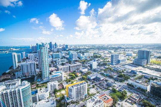 Miami Florida skyline