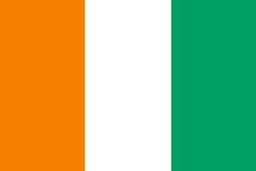 Flag of Côte d 'Ivoire