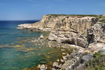 Capo Mannu in Sardinien