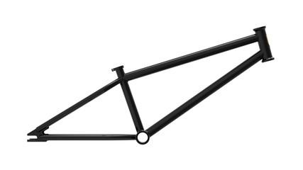 3d render of BMX frame isolated on white background