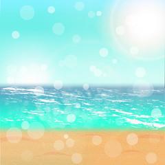 Summer Time. Illustration.