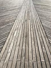 Boardwalk on the Coney Islan Beach
