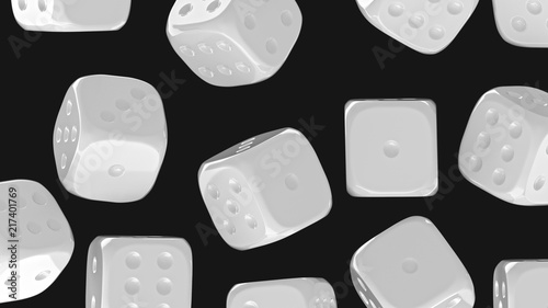 3d Origami Dice Stock Photo And Royalty Free Images On Fotolia