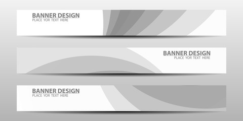 Banners with geometric background .Abstract layout background set. .Vector illustrations