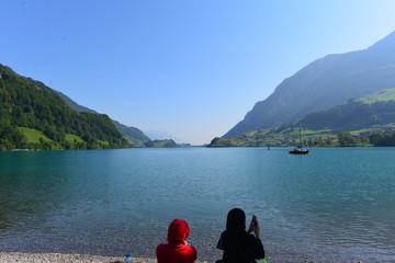Lungerersee im Kanton Obwalden - Schweiz