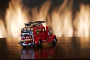 Miniature Fire Engine