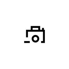 Photo remove icon vector symbol sign