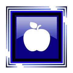иконка яблоко в квадрате