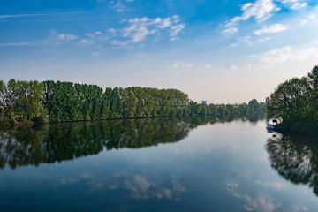 Landschaft Fluss Main