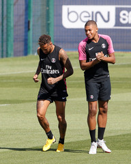 Ligue 1 - Paris St Germain Training