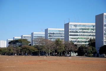 Brazilian ministries esplanade