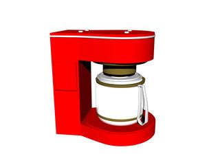 Kaffeeautomat in der Küche