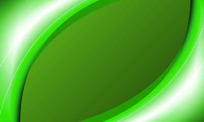 background with green wavy lines