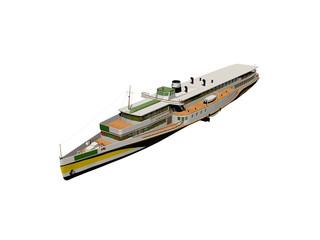 Großes Passagierschiff