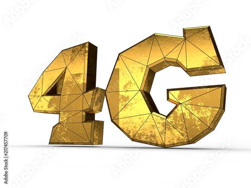 Image Text Symbol 4g High Sd Mobile Internet Gold Spots A Of Strength