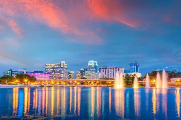 Orlando, Florida, USA Skyline