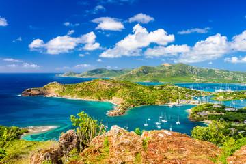 Foto op Plexiglas Caraïben Shirley Heights, Antigua and Barbuda Island Landscape in the Caribbean.