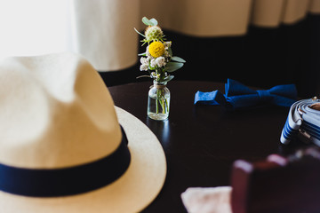 Hat and other clothing accessories for men