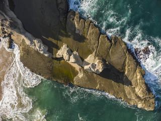 Klayar beach aerial photography