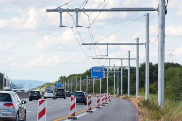 Neubau E-Highway bei Darmstadt