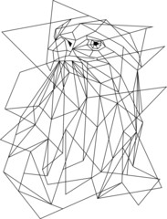 Adler Geoemtrisch