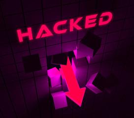 Cybersecurity Hacker Online Cyber Attacks 3d Illustration