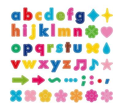 alphabet-01の小文字