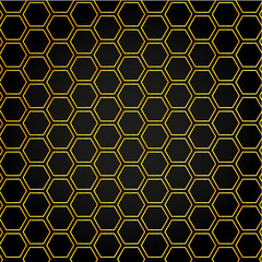 Seamless honeycomb background, vector, illustration, eps file