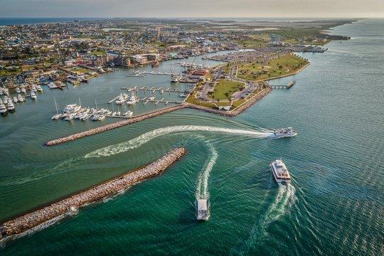 Port Aransas, Texas Marina Boats