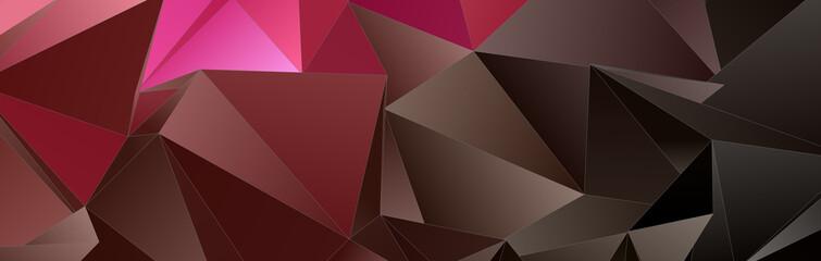 Triangular 3d, modern background