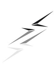 striche stromschlag gefahr schild blitz symbol kabel strom elektro leitung starkstrom gefahr energie watt clipart