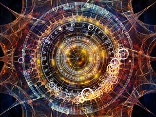 Obraz Geometry of Astrology - fototapety do salonu