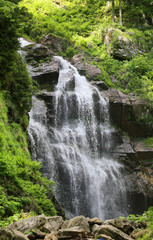 Photo of a beautiful macro waterfall