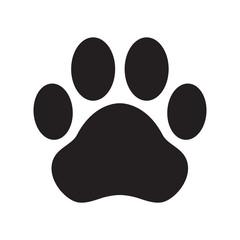 dog paw vector icon logo cartoon character illustration cat clip art french bulldog