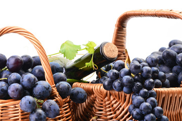 Excellent grape wine, this year's harvest