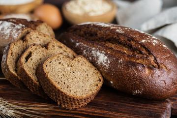 Rye homemade bread