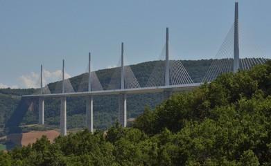 Viaduc de Millau, Aveyron, France