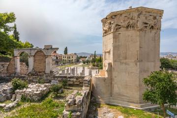 Tour des Vents, Agora romaine à Athènes
