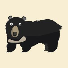 bears vector illustration