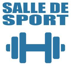 Logo salle de sport.