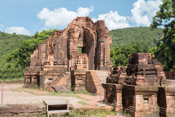 ancient ruins in Vietnam