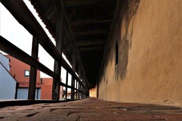 Nördlingen Stadtmauer und Deiniger Tor