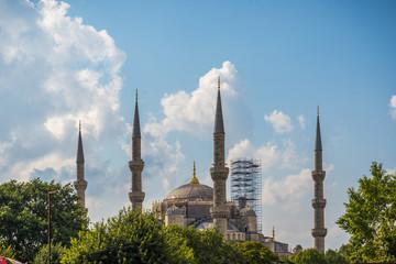 Techo de la basílica Santa Sofía, Istambul - Turquía