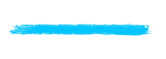 Pinsel Markierung blau