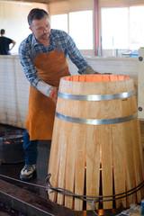 cooper making a barrel
