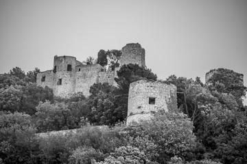 Castello Barbarossa in Anacapri auf der italienischen Insel Capri in Frühling.