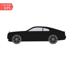 Luxury car icon. Super car design concept. Unique modern realistic art. Generic luxury automobile. Car presentation side view eps10
