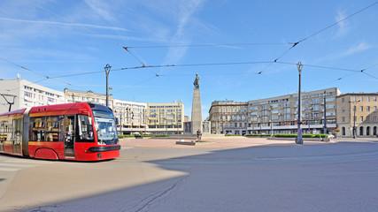 Łódź, Poland - view of Freedom Square