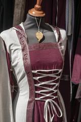 women's dress, medieval costume